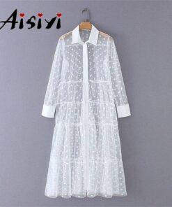 robe plage blanche dentelle