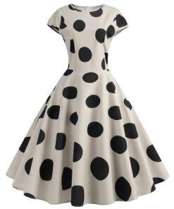 robe à gros pois