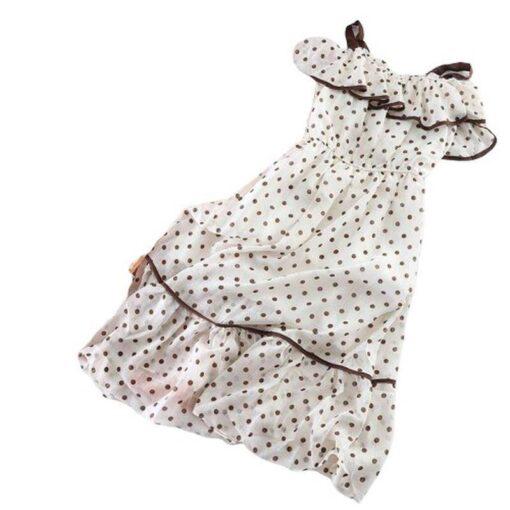 robe mousseline a volants