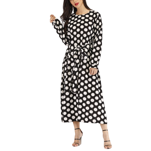 robe longue a pois kooples the maje style talon