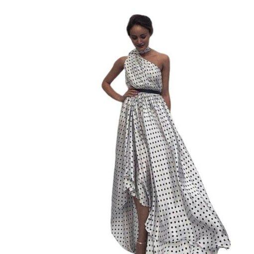 robe asymetrique soiree