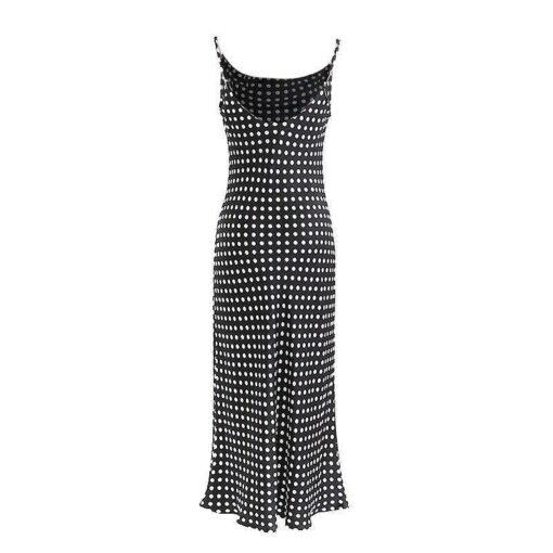 robe longue bretelles croisees dos
