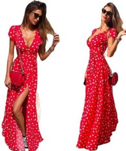 robes longue rouge
