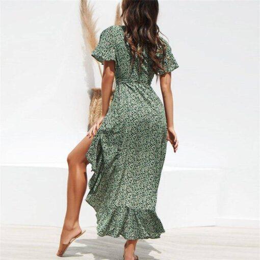 robe asymetrique mousseline