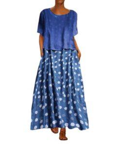 robe tunique longue grande taille