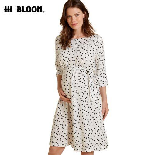 Robe à Pois##Robe à Pois robes maternité - coccinelle-paradis