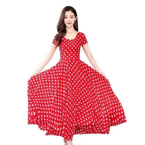 robe fleurie boheme