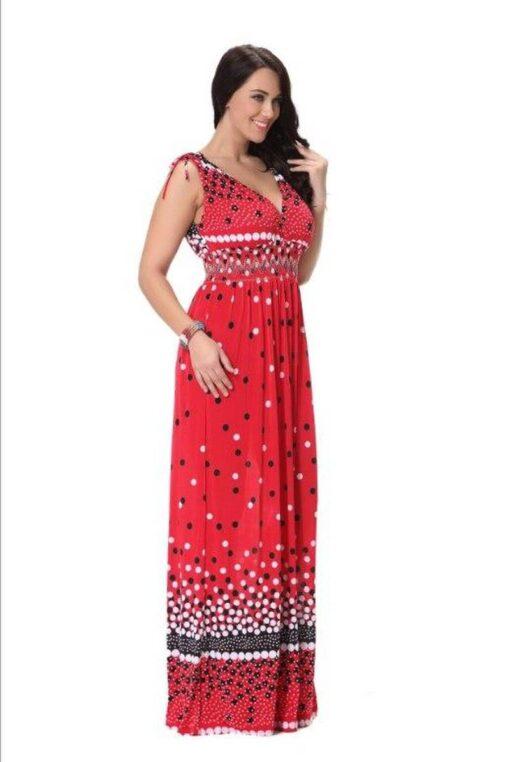 robe bustier grande taille soiree