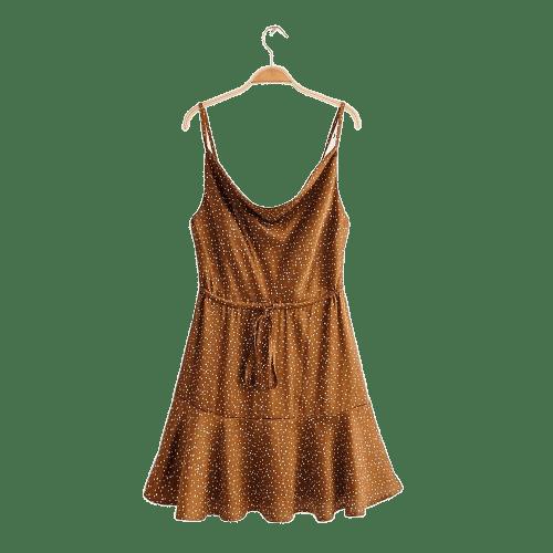 robe a pois courte femme dos plage molleton unie