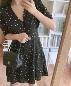 robe noire a pois blancs la redoute