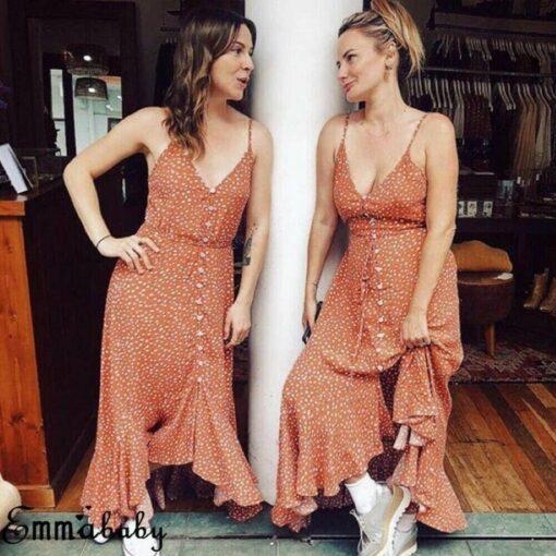 robe longue larges bretelles