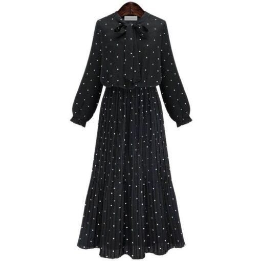 jupe longue plissee en soie