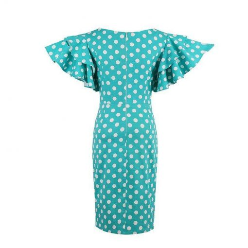 robe courte bleu marine