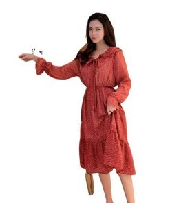 robe mousseline mi longue