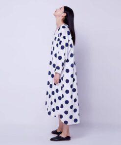 robe asymetrique en lin