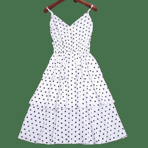 petite robe a pois