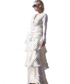 robe longue imprime