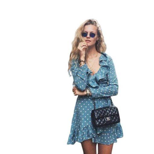 robe bleu marine avec ceinture