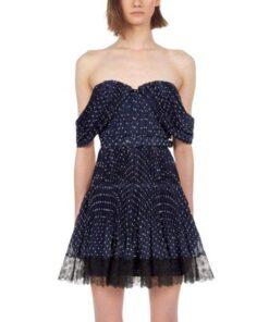 robe dentelle soiree