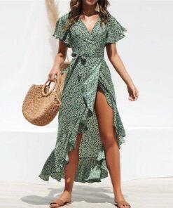 robe asymetrique soie