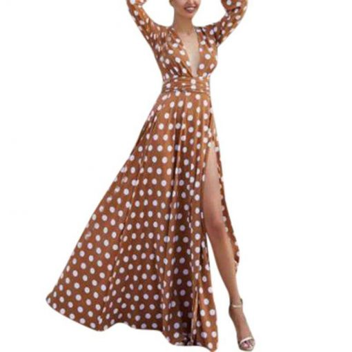 modele de robe longue en pagne
