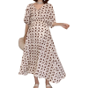robe grossesse a pois colline