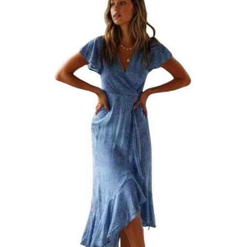 robe de soiree grande taille mi longue