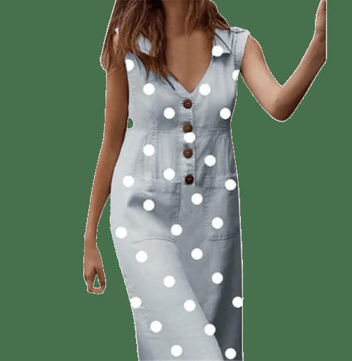 robe comme maman a pois courte