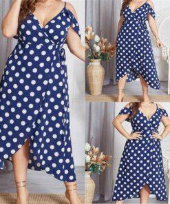 robe bleu bonheur grande taille