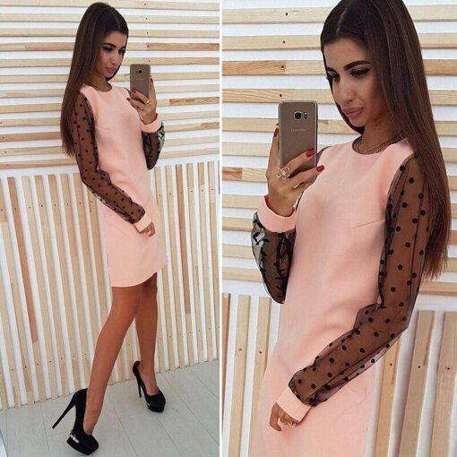 robe droite longue
