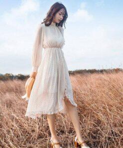 jupe longue femme taille elastique