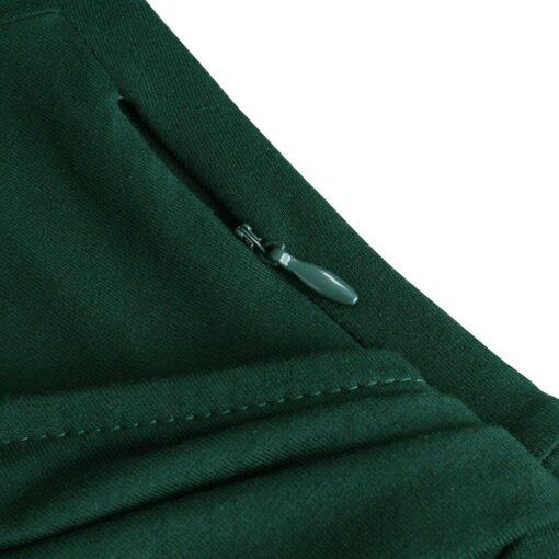 Robes à Pois Courtes#robe à pois bleu marine#Robe à Pois Courte Bleu Marine / Vert / Noir - coccinelle-paradis