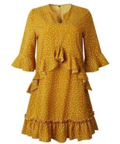 robe en foulard soie