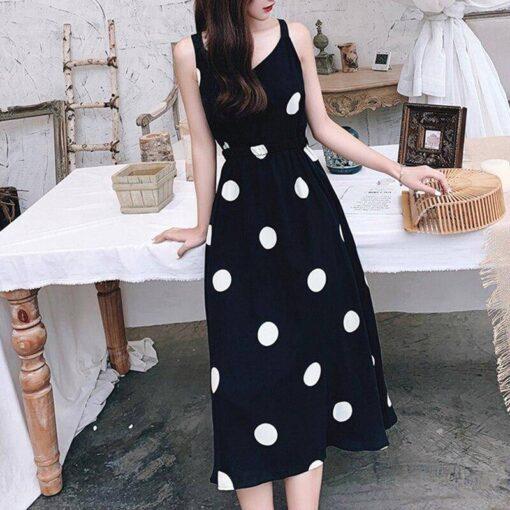robe noir paillette longue