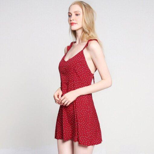 robe annee 50 blanche a pois rouge avec veste