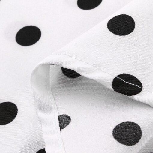 ebay robe vintage a pois blanc