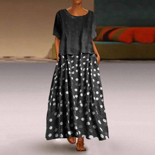 robe blazer longue grande taille