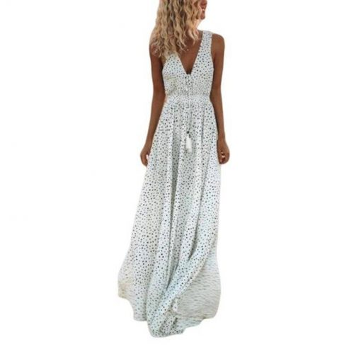 robe vintage blanche
