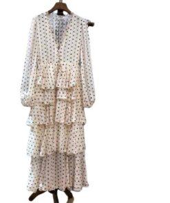 robe maxi manche longue