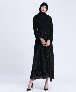 robe longue femme arabe
