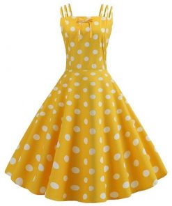 robe vintage a pois grande taille