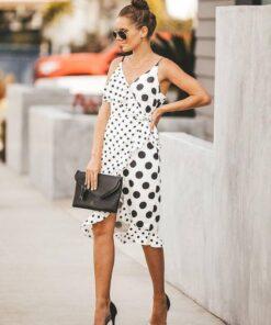 robe longue moulante fendue