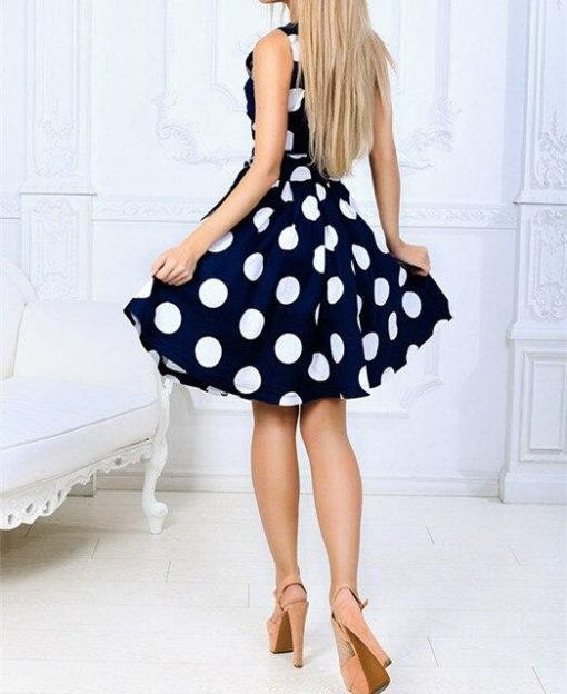 Robes à Pois Courtes##Robe à Pois Courte Sequins Femme Fourreau - coccinelle-paradis