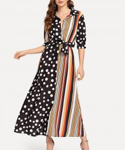 robe moulante longue