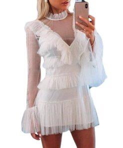 robe de soiree courte blanche