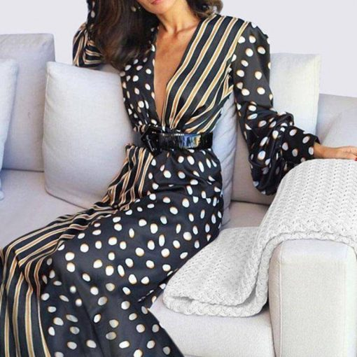 robe longue taille empire