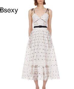 robe longue dentelle sexy