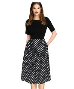 robe tunique manche courte