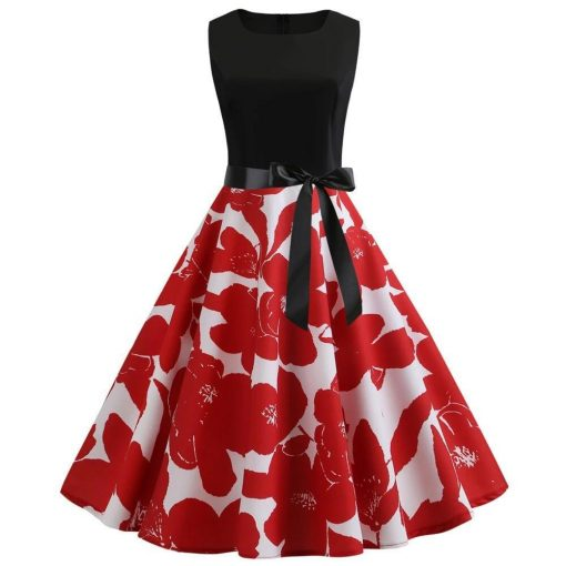 robe rétro chic grande taille