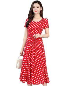robe rouge boheme